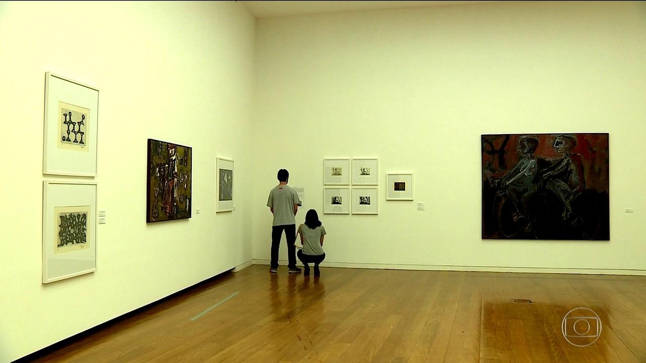 Museu Iberê Camargo abriga obras do pintor gaúcho e tem acervo com mais de 4 mil peças
