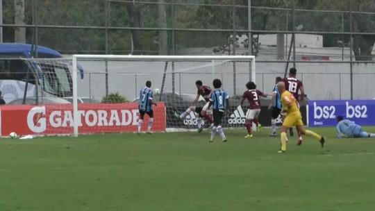 Flamengo tranquilo também no sub-20