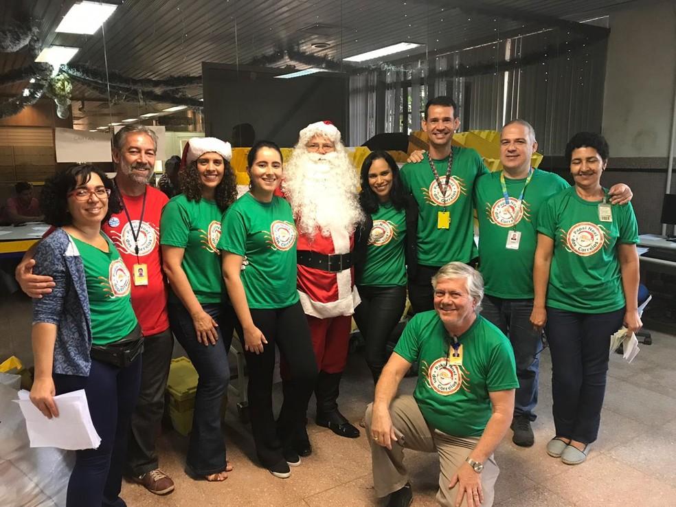 Campanha Papai Noel dos Correios, em Goiás — Foto: Correios Goiás/Divulgação
