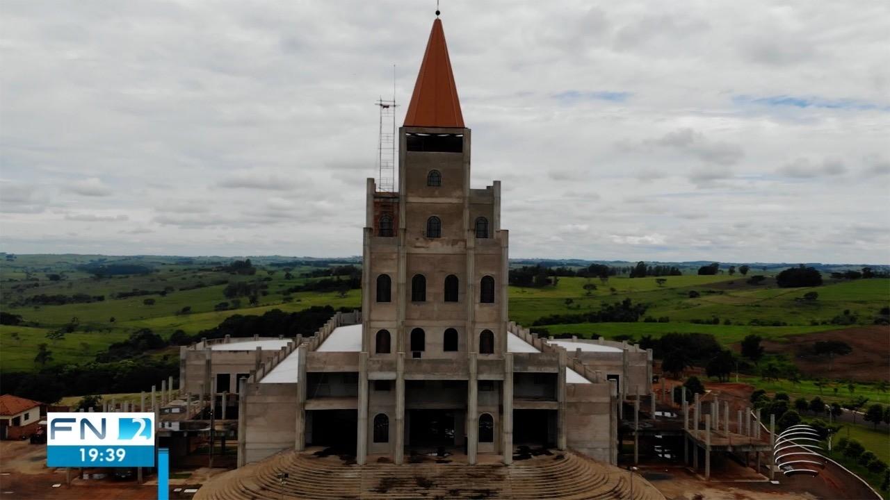 Pandemia influencia em atraso de obras do Santuário de Santo Expedito