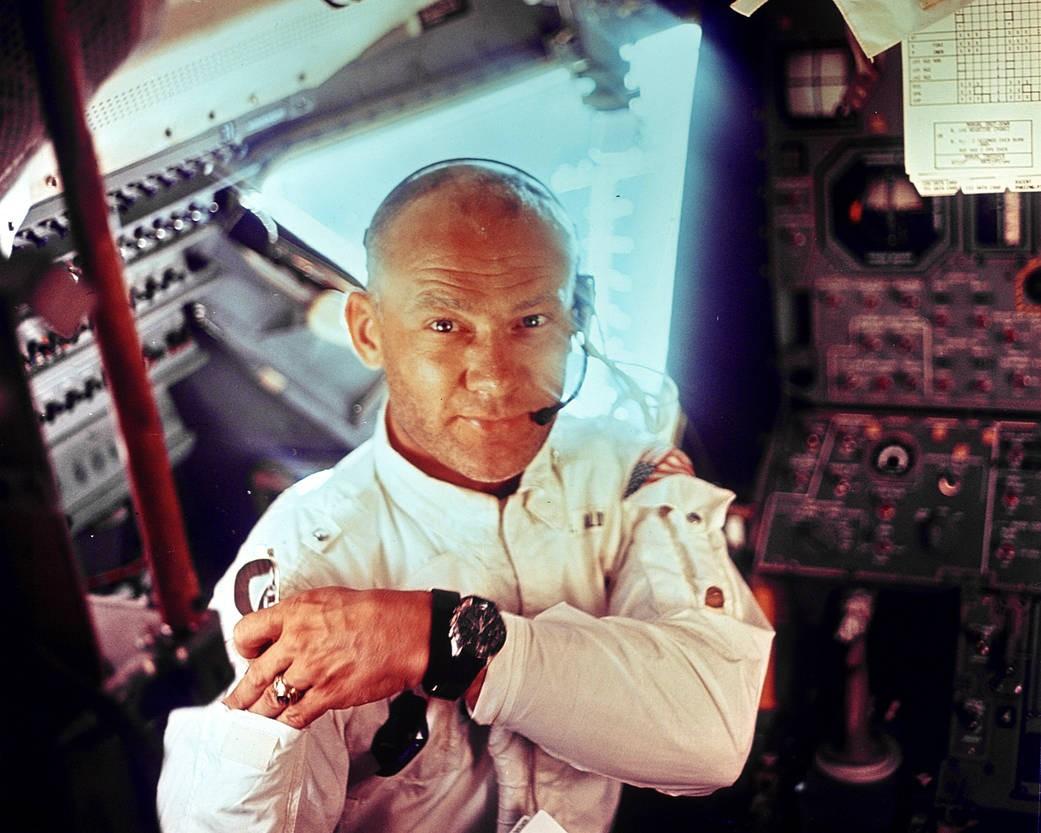 Agora Buzz Aldrin se concentra em ajudar a humanidade chegar em Marte (Foto: NASA)