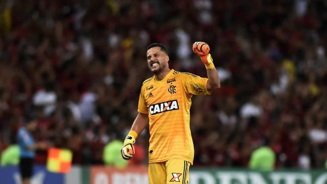 Comemoração Julio Cesar Flamengo x América-MG - Campeonato Brasileiro 2018