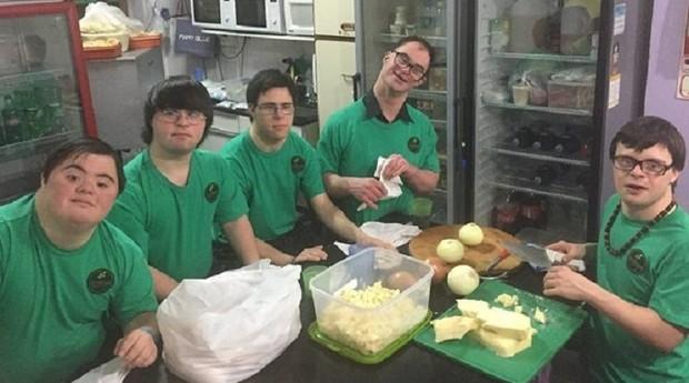 Empresa foi fundada por jovens com síndrome de Down (Foto: Divulgação)