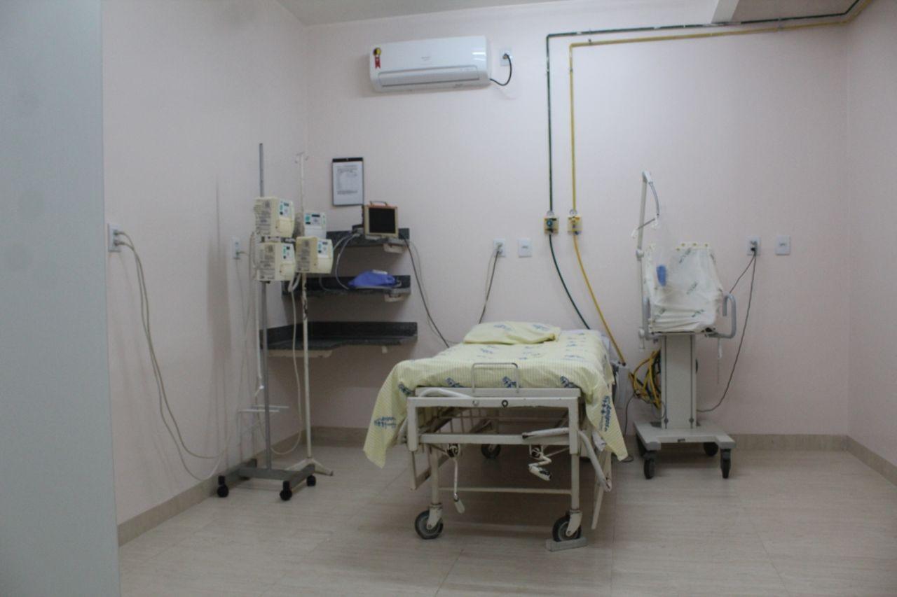 Leitos da maternidade da Santa Casa de Bom Despacho serão utilizados por pacientes com coronavírus