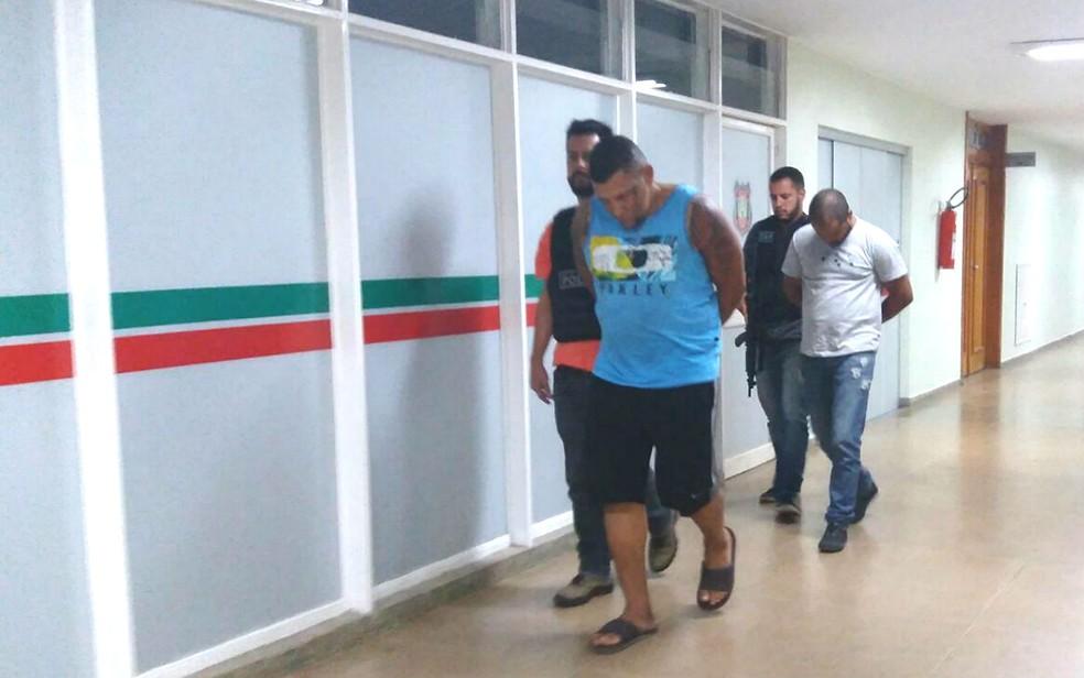 Líder de tráfico de drogas no Rio de Janeiro é preso em Brasília (Foto: Polícia Civil/Divulgação)