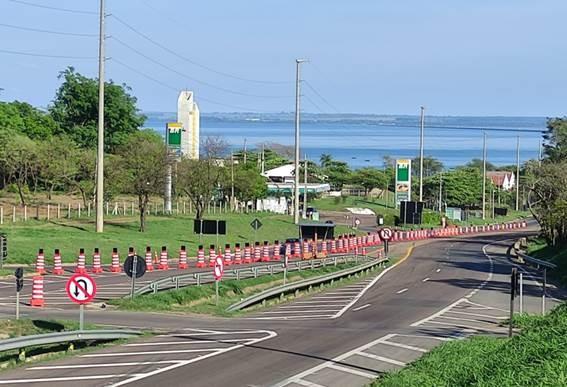Em caráter experimental, operação implanta nova configuração de tráfego na Rodovia Raposo Tavares, em Presidente Epitácio