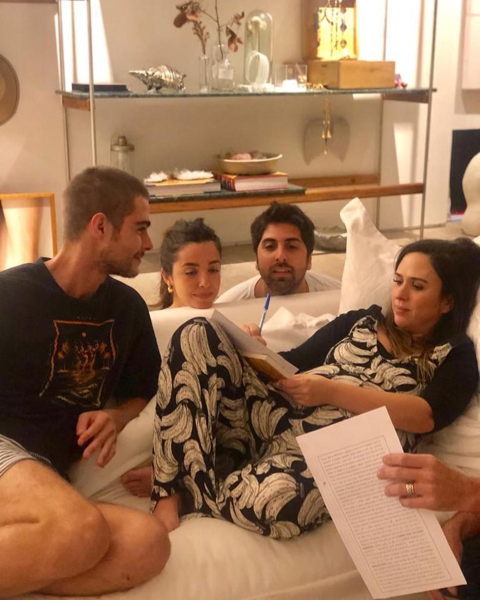 Tatá Werneck revela que se casou com Rafael Vitti — Foto: Reprodução/Instagram