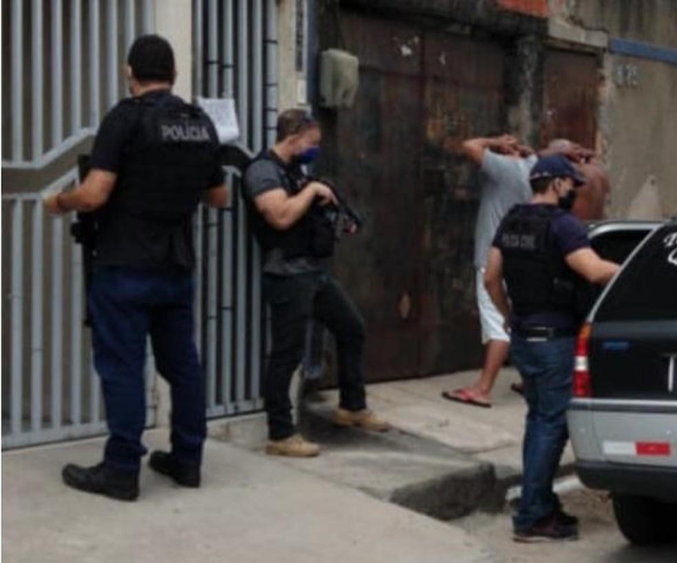 Operação policial prende 19 suspeitos de tráfico no Ceará — Foto: Polícia Civil/Divulgação