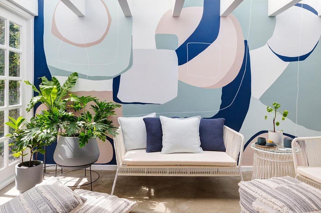 Pintura orgânica: conheça a tendência  que transforma as paredes dos lares! (Foto: Marcella Riani)