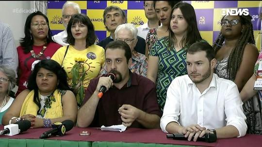 Guilherme Boulos é oficializado candidato do PSOL à Presidência