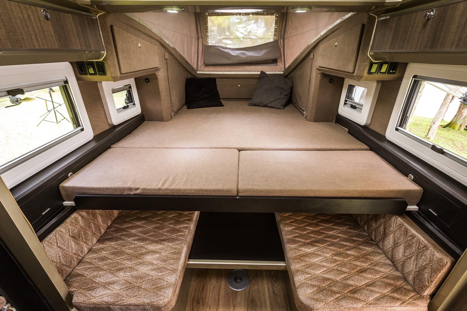 Mitsubishi L200 ganha adaptação e vira 'casa sobre rodas' no Salão do Automóvel Tritonduaron-tompapp-3512