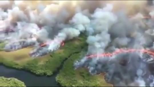 Presidente da Bolívia diz que aceitará ajuda para combater queimadas
