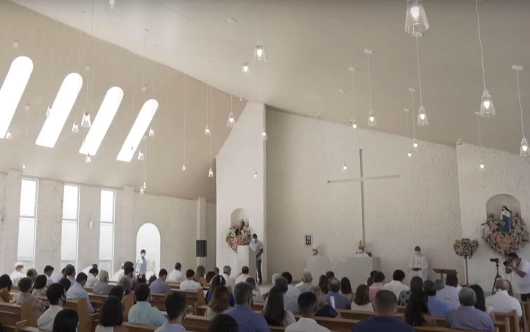 Com missa solene, capela e memorial em homenagem a Santa Dulce dos Pobres são inaugurados em Castro Alves
