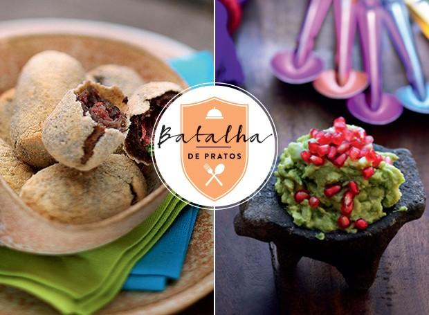 Batalha de pratos: Brasil x México (Foto: Casa e Jardim)