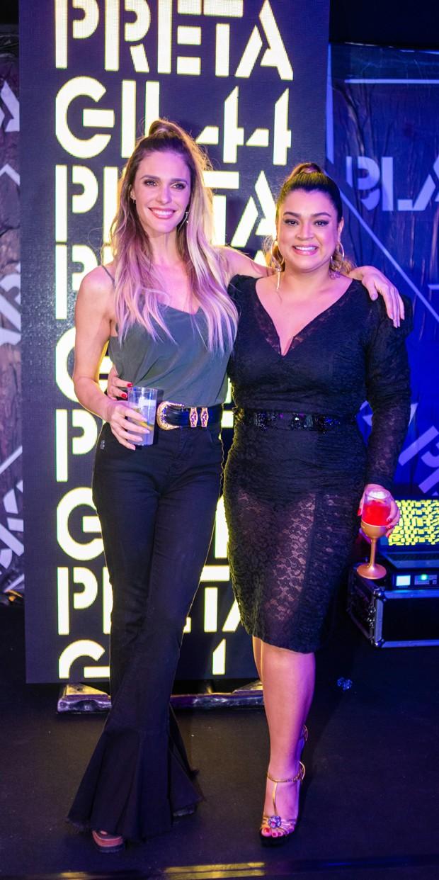 Fernanda Lima e Preta Gil (Foto: V RebeL/Divulgação)