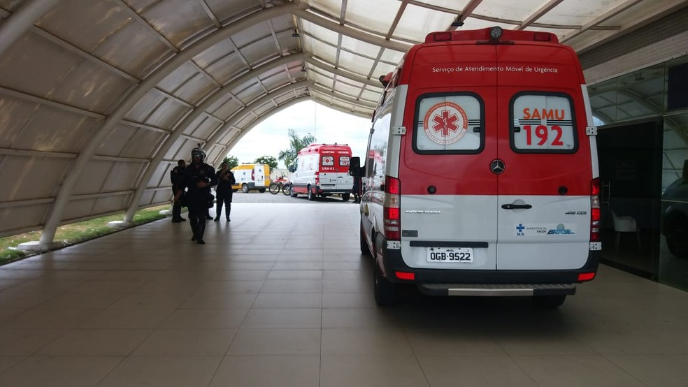 Criança foi levada para o Hospital de Trauma de Campina Grande mas já chegou morta. — Foto: João da Paz/Ascom/Divulgação