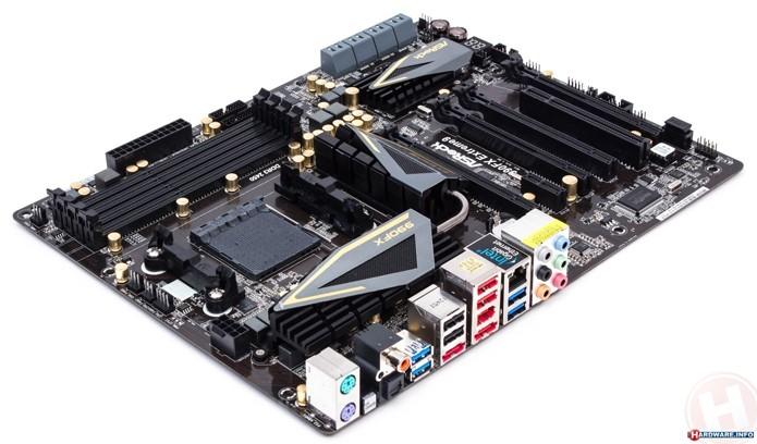 Asrock garante vida longa com o uso de componentes eletrônicos de alta qualidade (Foto: Reprodução/Hardware.info)