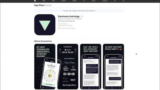 """Conheça o aplicativo que é considerado o """"uber"""" das consultas astrológicas"""