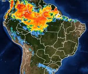 Semana começa com chuva no Sul e previsão de clima seco na maior parte do Brasil