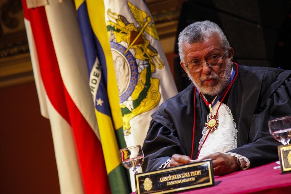 Magistrado Aristóteles Thury tinha 71 anos. — Foto: Divulgação