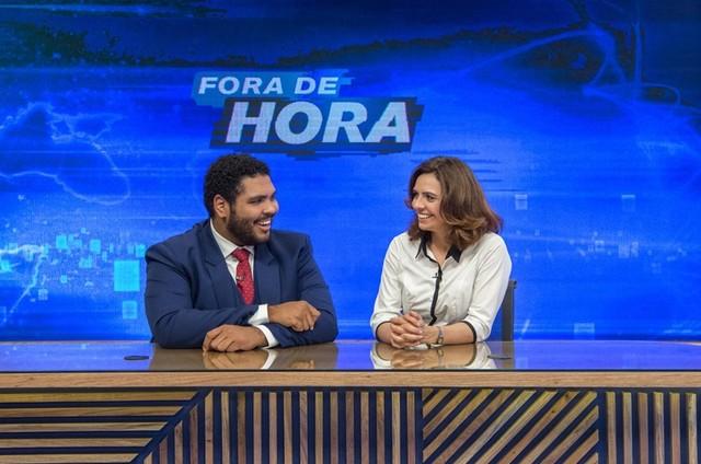 Paulo Vieira e Renata Gaspar (Foto: Divulgação)