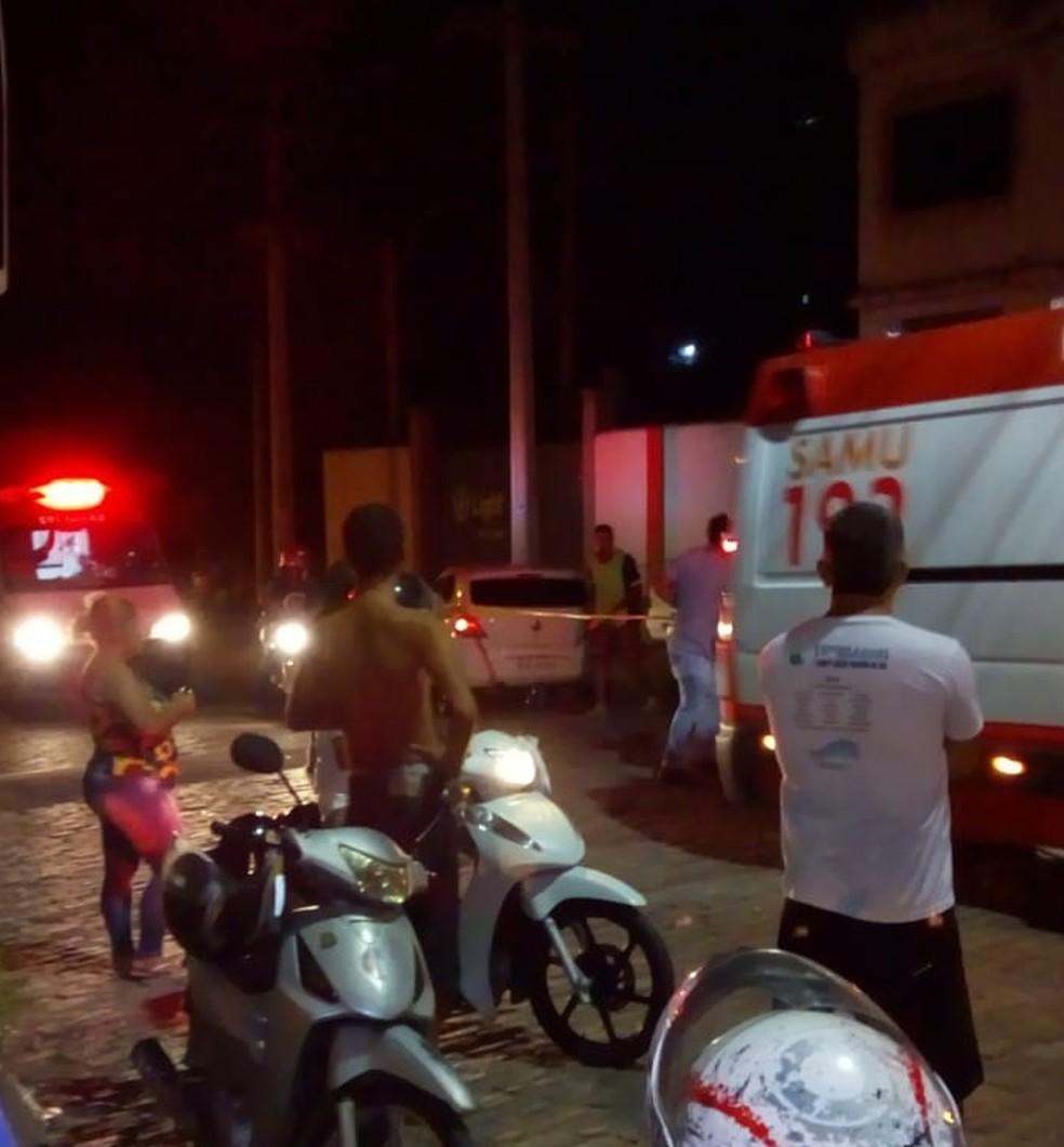 Dois são assassinados e outros dois são baleados em Três Rios — Foto: Divulgação