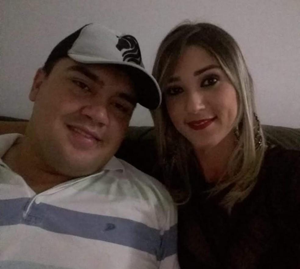 Iury e Patrícia tinham um relacionamento há cerca de dois meses (Foto: Arquivo Pessoal)