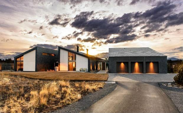 Mansão movida a energia solar de Matthew Fox (Foto: Divulgação)