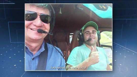 Piloto de helicóptero preso tem negócios fora da aviação em Goiás