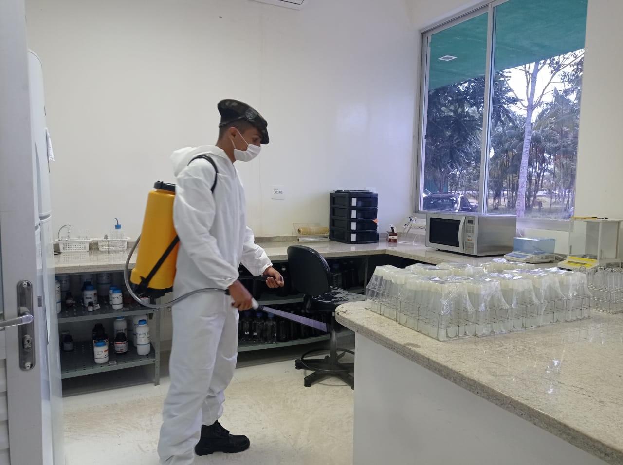 Em Rio Branco, mais de 500 prédios com seções eleitorais são desinfectados para o 2º turno