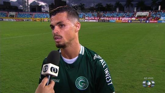 """Michael reconhece atuação ruim do Goiás e evita discurso de terra arrasada: """"Nada perdido"""""""