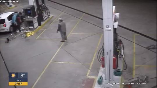 Criminosos armados assaltam posto de combustíveis em Paraguaçu, MG