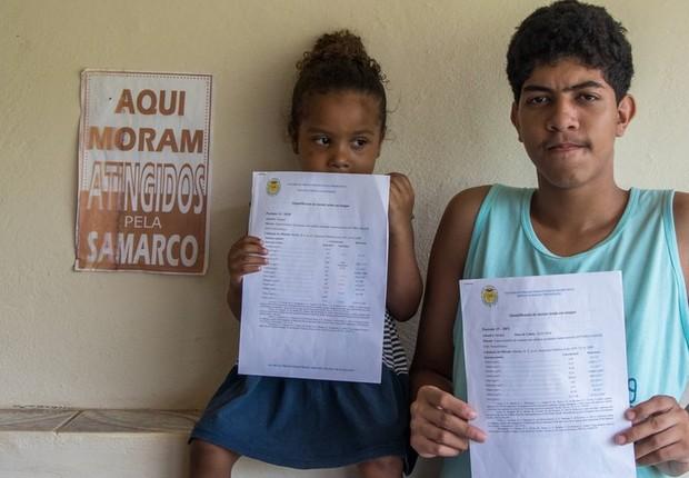 Tanto Sofya quanto o irmão, Davidy, estão intoxicados por metais pesados (Foto: TAINARA TORRES/BBC BRASIL)