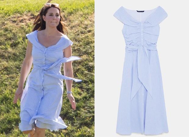 Kate Middleton (Foto: Grosby Group e Reprodução/Zara)