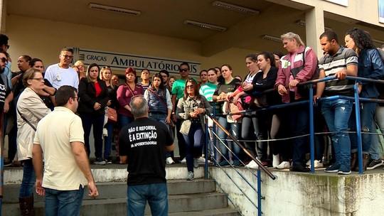 Com ameaças de demissão, funcionários da saúde de Canoas entram em paralisação