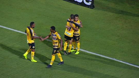 O gol de Santos 0 x 1 Novorizontino pelo Campeonato Paulista