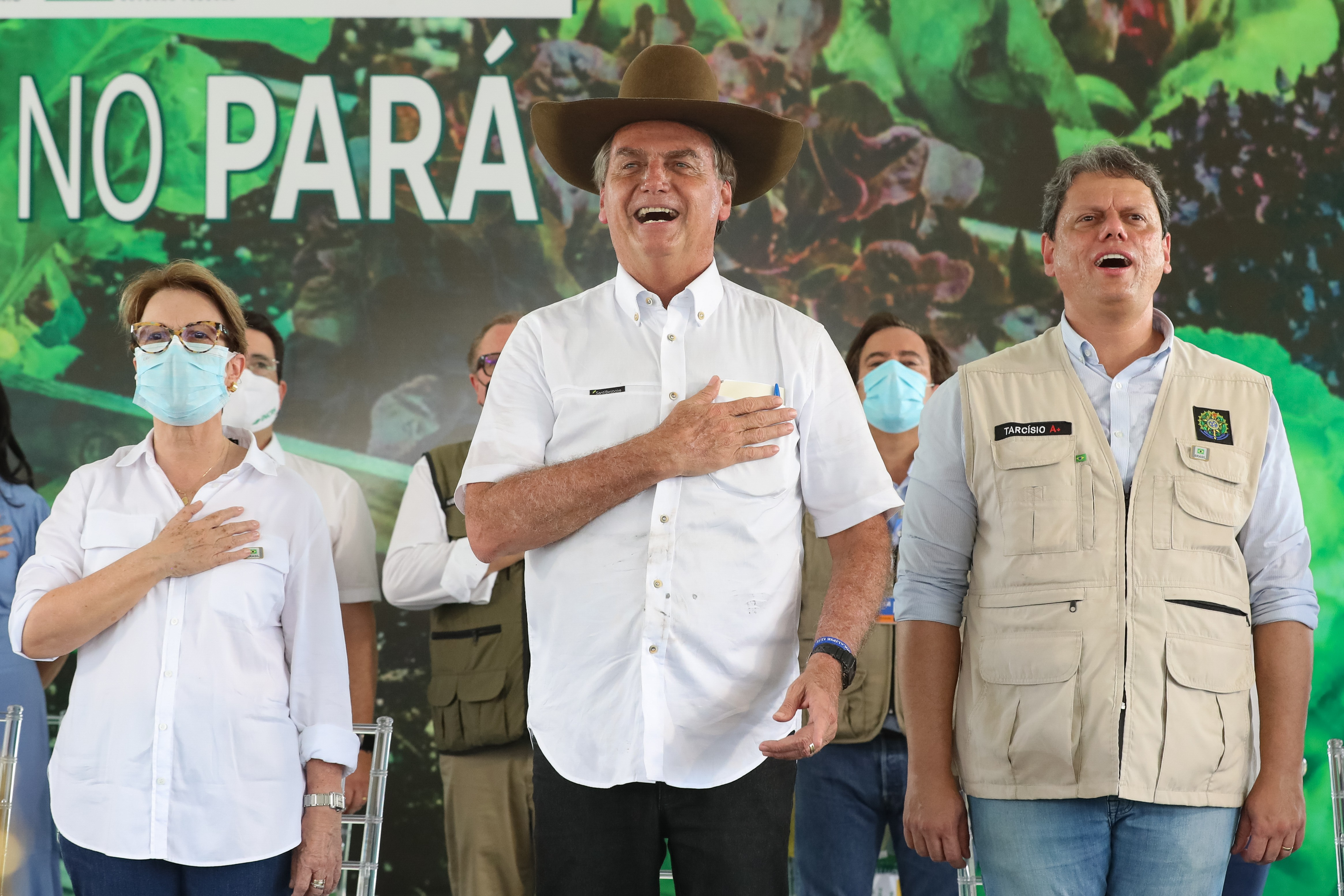 Bolsonaro em agenda no Pará