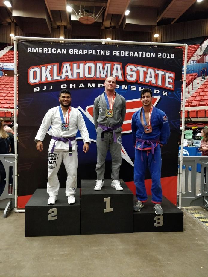 Irmãos Raul e Rubem Lima são pódio no AGF de jiu-jitsu, nos EUA | rr
