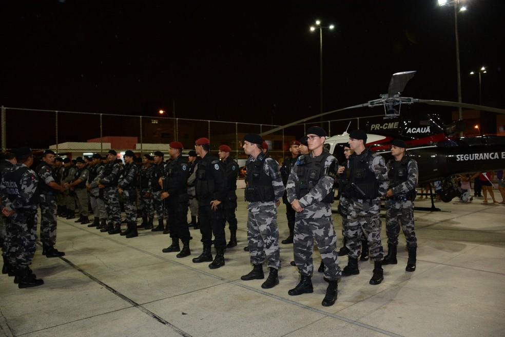 Concurso para Polícia Militar prevê 900 vagas sendo 850 delas para o sexo masculino (Foto: Wagner Varela/PMPB/Arquivo)