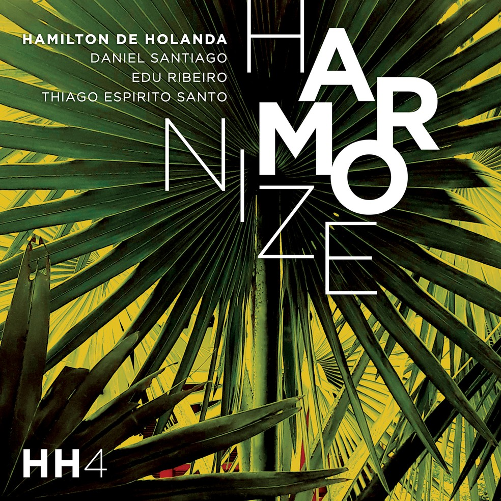 Capa do álbum 'Harmonize', do músico Hamilton de Holanda — Foto: Divulgação / Brasilianos
