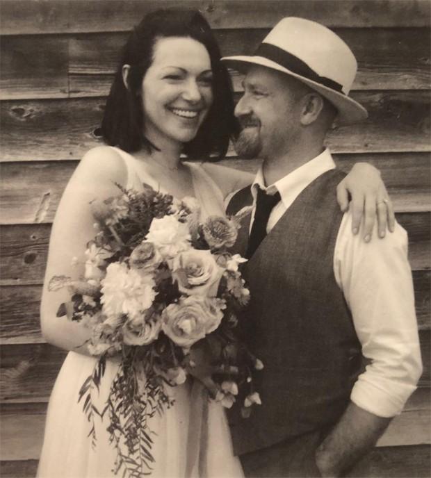 Laura Prepon e Ben Foster (Foto: Reprodução / Instagram)