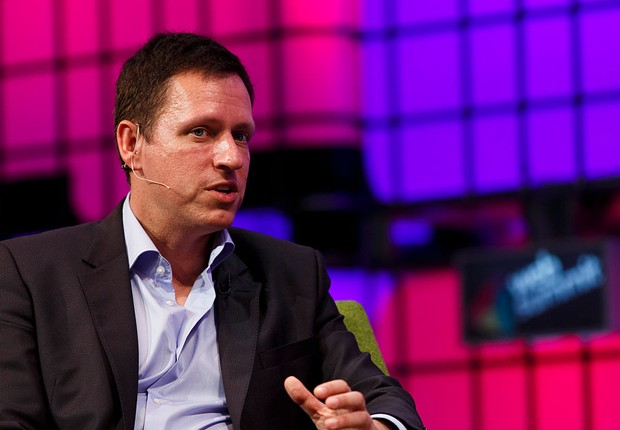 Peter Thiel, cofundador do PayPal (Foto: Tristan Fewings/Getty Images)