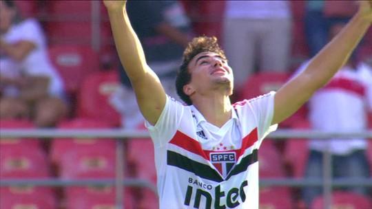 Veja os dois gols de Igor Gomes, de 20 anos, na vitória são-paulina