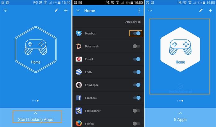 Escolha os apps que deseja bloquear (Foto: Reprodução/Barbara Mannara)