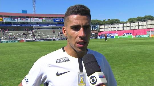 """Autor de um dos gols, Gabriel fala sobre chance de ser titular: """"Tem que estar preparado"""""""