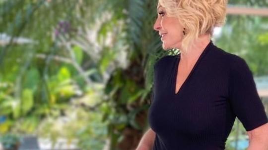 Ana Maria Braga muda visual e pede opinião dos seguidores: 'Cabelo novo! Aprovado?'