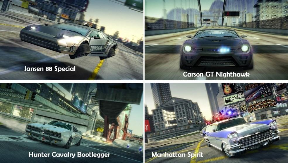Burnout Paradise tem DLC que inclui carros famosos (Foto: Reprodução/Amazon)