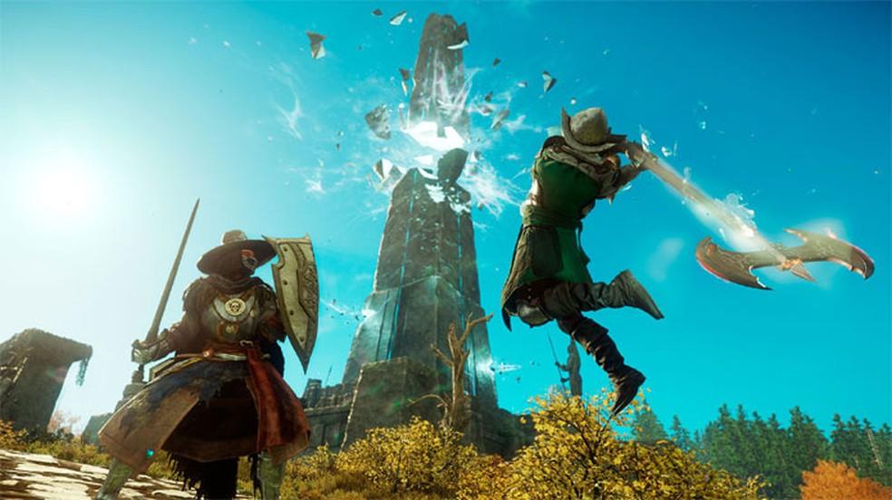 New World, aguardado MMORPG da Amazon Games para PC, sofre novo atraso e está planejado para 28 de setembro, 2021 — Foto: Divulgação/New World