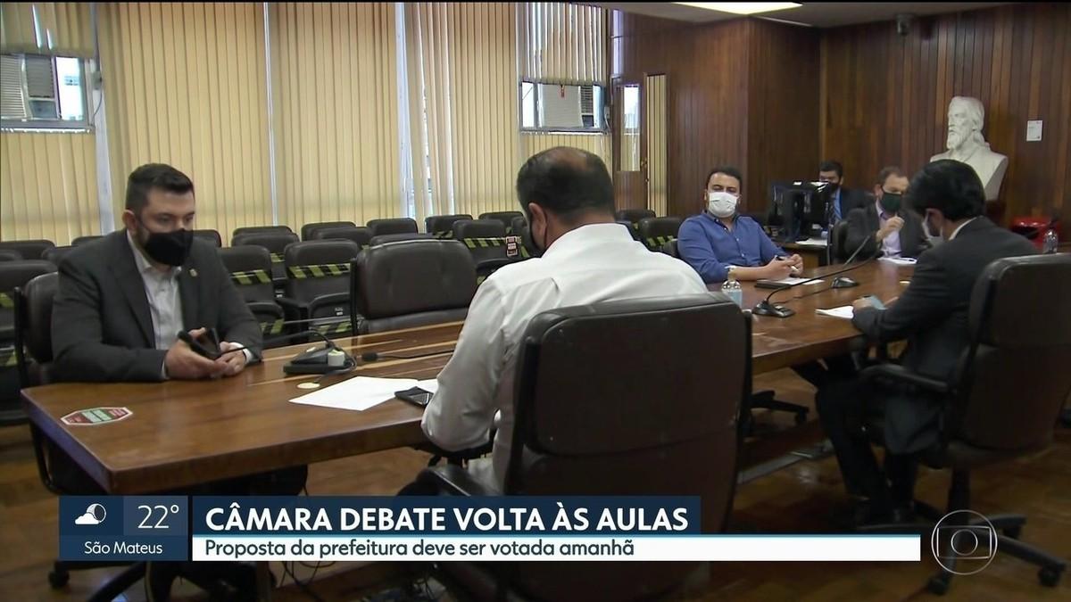 Câmara de Vereadores de SP aprova em 1º turno o projeto de lei para volta às aulas na cidade de SP – G1