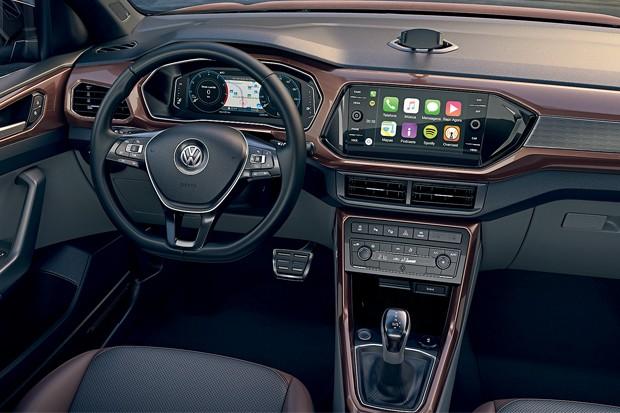 O app VW Connect traz as principais funções do seu smartphone acessíveis por voz e na tela (Foto: Divulgação)